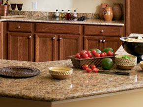 Granite, Marble, Quartz, Acrylic, Laminate, Formica, Tile, Wood, Recycled, Countertops & Backsplashes
