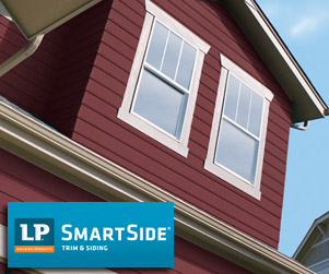 Siding soffit fascia from lyman lumber eau claire for Lp smartside shakes coverage